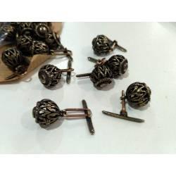 Botones de latón