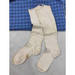 Antiguas medias de algodón
