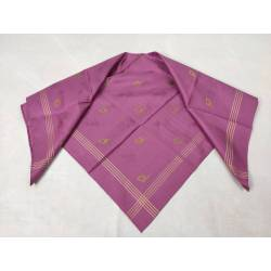 Pañuelo de seda brochada