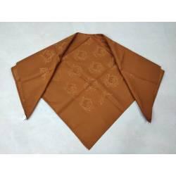 Pañuelo adamascado, marrón