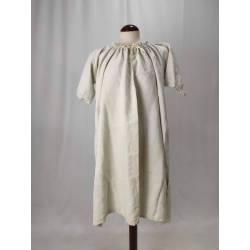 Antiguo camisón de lino