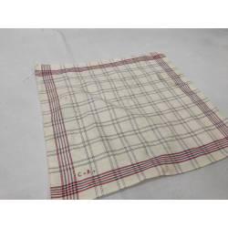 Antiguo pañuelo de lino