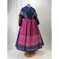Antiguo delantal de lana,...