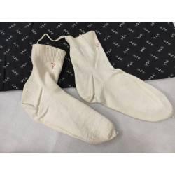 Antiguos calcetines de algodón