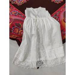 Antiguo vestido de algodón...