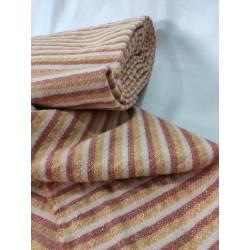 Tejido de lana, a rayas