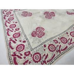 Antiguo pañuelo de seda...