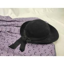 Antiguo sombrero de mujer