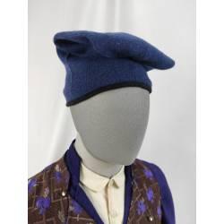 BARRETINA, Gorra de lana azul