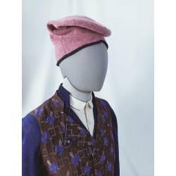 Barretina. Gorra llarga rosa