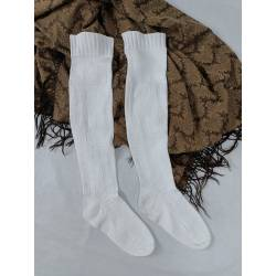 Antiguas medias de algodón,...