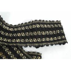 Antigua cinta de lana y algodón