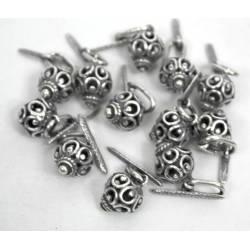 Botones de plata vieja